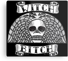 WITCH BITCH Metal Print