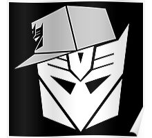 Decepticon Snapback for Darker Products Poster