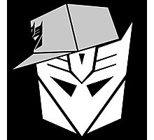 Decepticon Snapback for Darker Products Photographic Print