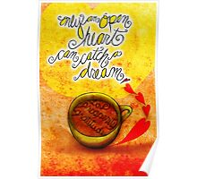 What my #Coffee says to me September 29, 2013 Poster