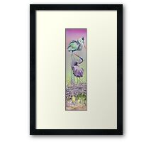 Between the Worlds Framed Print