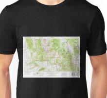 USGS TOPO Map Arizona AZ Prescott 315579 1954 250000 Unisex T-Shirt