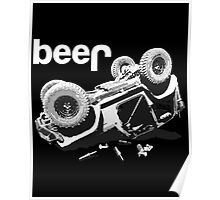 Funny  Beer  4x4 Poster