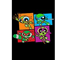 Power POP Turtles Photographic Print