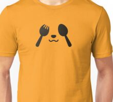 fork and spoon panda eyes Unisex T-Shirt