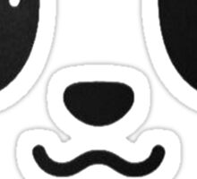 fork and spoon panda eyes Sticker