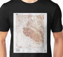USGS TOPO Map Arizona AZ Goldfield 311509 1956 24000 Unisex T-Shirt