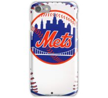 NEW YORK METS IN BALL iPhone Case/Skin