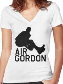 Air Gordon - Aaron Gordon Women's Fitted V-Neck T-Shirt