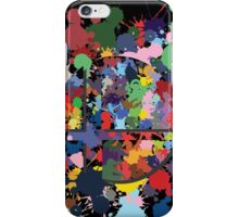 SMASH COLORS! iPhone Case/Skin