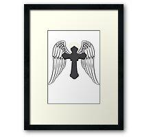 Cross Angel  Framed Print