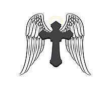 Cross Angel  Photographic Print
