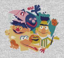 Sesame Street One Piece - Short Sleeve