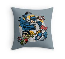 Dick and Bruce Throw Pillow