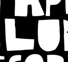 Tape Club Records Sticker