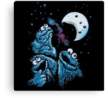 Theere Monster Cookies Canvas Print