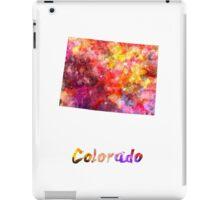 Colorado US state in watercolor iPad Case/Skin