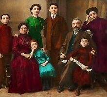 Americana - The Savatsky family by Mike  Savad