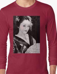 Blossom Geisha  Long Sleeve T-Shirt