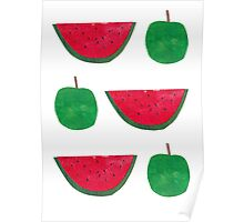 Apples & Watermelons! Poster