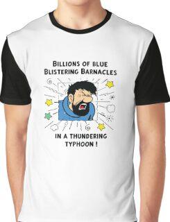 Captain Haddock - Blistering Barnacles Graphic T-Shirt
