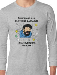 Captain Haddock - Blistering Barnacles Long Sleeve T-Shirt