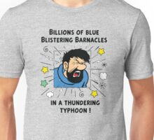 Captain Haddock - Blistering Barnacles Unisex T-Shirt