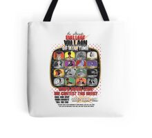 The Evillest Villain Tote Bag