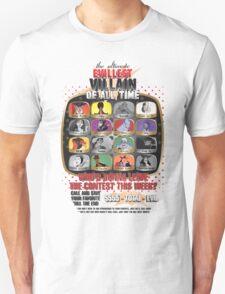 The Evillest Villain T-Shirt