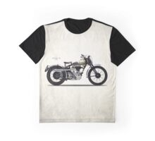 Model 18 Trials Motorcycle 1938 Graphic T-Shirt