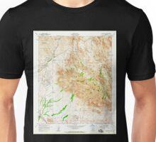 USGS TOPO Map Arizona AZ Goldfield 311507 1956 24000 Unisex T-Shirt