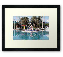 Pool Framed Print