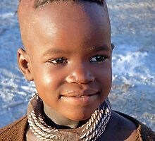 Himba boy by Margaret  Hyde