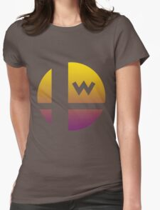 Super Smash Bros - Wario Womens Fitted T-Shirt