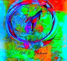 Betta Fish Abstract  by Rita  H. Ireland