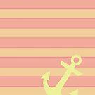 Yellow anchor by IamJane--