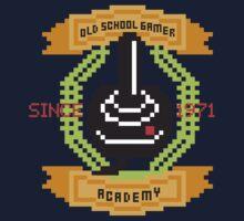 Old School Gamer Academy One Piece - Long Sleeve