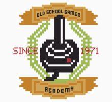 Old School Gamer Academy by ZandryX
