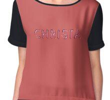 Christa Chiffon Top