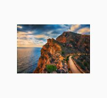 The cliff and path at Albir Unisex T-Shirt
