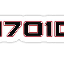 Team 1701D Sticker