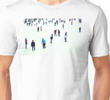 ice skaters Unisex T-Shirt