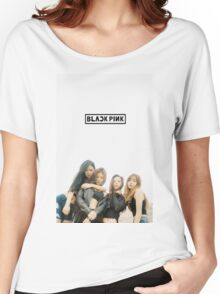 black pink 5 Women's Relaxed Fit T-Shirt