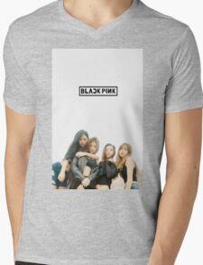 black pink 5 Mens V-Neck T-Shirt
