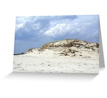 Sculpted Sand Dune - Island Beach State Park - NJ - USA Greeting Card