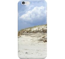 Sculpted Sand Dune - Island Beach State Park - NJ - USA iPhone Case/Skin