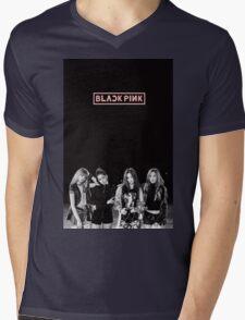 black pink 6 Mens V-Neck T-Shirt