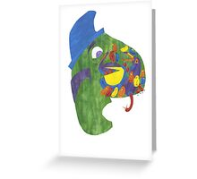 On whose nose, most birds of the air could repose. Greeting Card