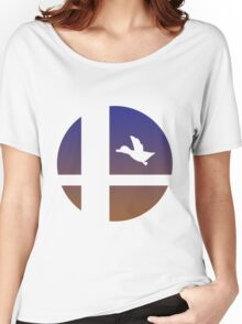 Super Smash Bros - Duck Hunt Duo Women's Relaxed Fit T-Shirt