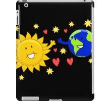 Sun love earth iPad Case/Skin